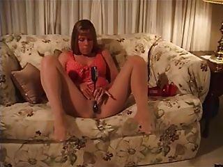 Mädchen masturbiert in Strumpfhose 004