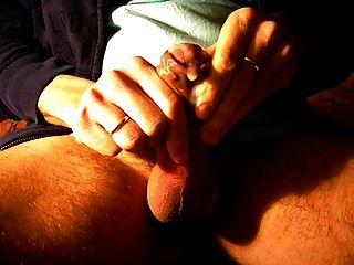 spielen mit Sperma und wichsen Teil 3
