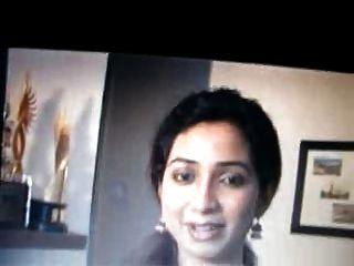 bengali sänger shreya goshal wird spucken und cummed auf