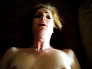 Frau fucking und cum Gesichtsbehandlung
