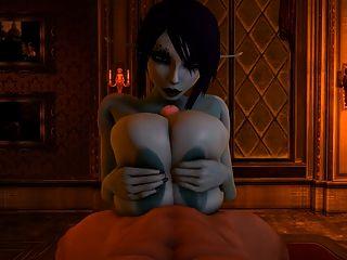 soria nutzt ihre enormen Titten zu titfuck einen Kerl zur Vollendung