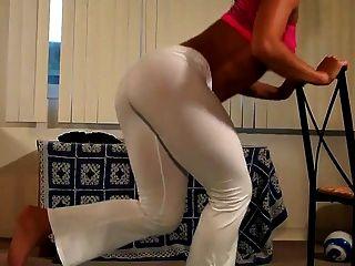 michelle jacot sexy workout teil 2