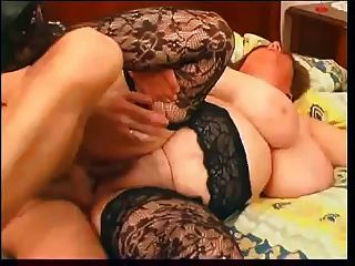 big boobs grannie in heißen Sex und Cumshot