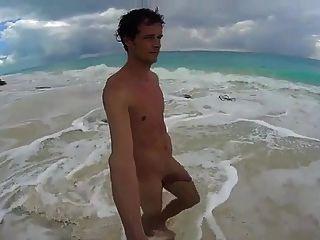 Str8 Männer wichsen in Kuba Strand Playa