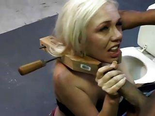 blonde schicke raue Gesicht fuck j853