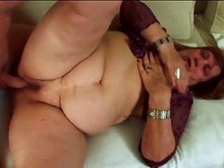 bbw granny dominika mit großem Arsch und Titten