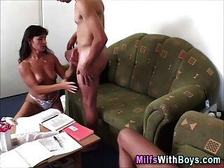 reifen Milf Dreier Sex