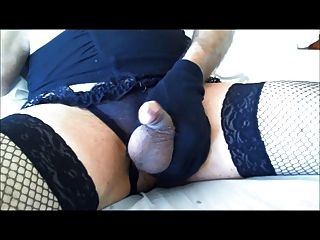 angelatv cremig cumshot in Split g String