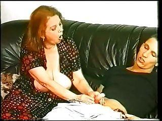 Oma Mathilda und Junge
