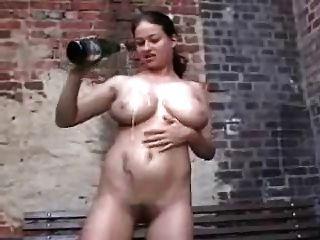 Champagner Gurgeln Pussy