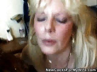 wifey wird von einem schwarzen bolzen als ehemann beobachtet