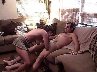 Amateurpaar und heißer Fick