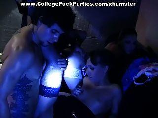 Gruppe Bad ficken auf der Party