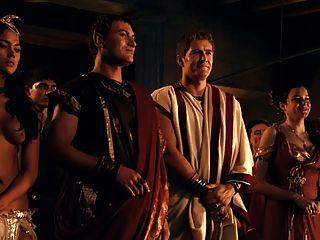 spartacus: römische orgie