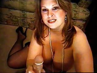 bbw auf webcam setzt auf Strumpfhose (kein Ton)