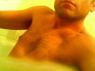 Ich und meine Schwanzpumpe im Bad