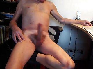 Big Cock Jack aus und Sperma