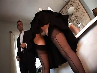 britische slut alicia rhodes wird in einem ffm threesome gefickt
