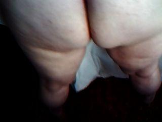 mein dicker weißer Arsch
