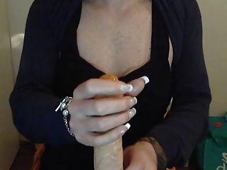 Saugen und Ficken auf der Webcam
