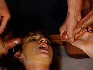 Sperma auf Gesichter Zusammenstellung