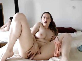 Anal-Spielzeug fuck von diesem großen Tit natürlichen Mädchen