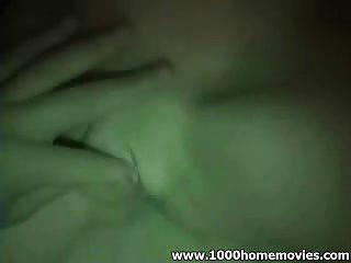 Paar Nachtschauer masturbieren Blowjob und Fingersatz im Dunkeln mit Nighthot Vision