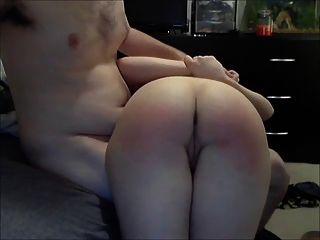 Spanking und Fingersatz gf nice ass