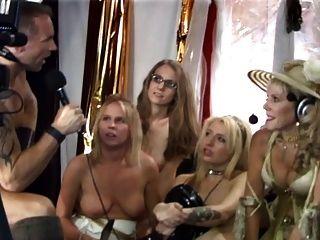 jüdische Omas spritzt während der Sex-Show