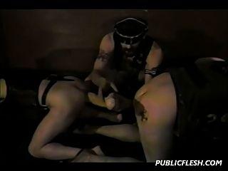 homosexuelle doppelte Fisting und extreme Spielzeuge