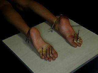 Fußfolter