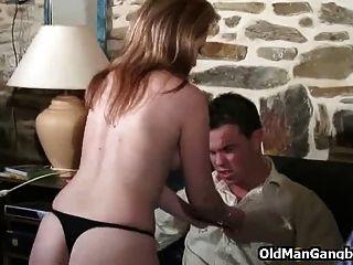 Opa-Spione auf Anal-Sex-Liebhaber