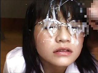 japanische Schulmädchen bukkake