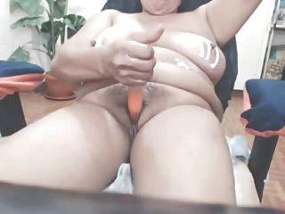 große Tit Amateur asiatische reifen Spielzeug
