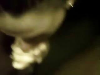 weißer Mieter lässt mich ficken ihren Mund und Sperma auf ihrem Gesicht