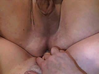 Mann und Frau Doppel Dildo Spaß Teil 2