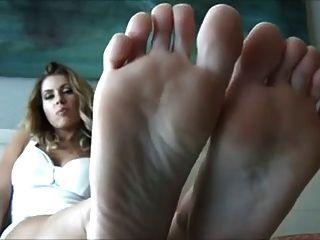 Sohlen und perfekte Füße