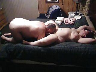 bbw Frau wird gegessen und gefesselt von Ehemann