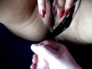 Sperma auf Pussy 2