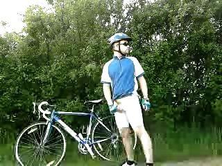 ich mit fahrrad