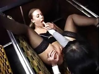 beste lesbische Szene, die ich je im Bus gesehen habe