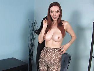 milf cheetah drucken pantyhose joi ... it4