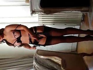 julie skyhigh in 13cm gewölbten Fersen \u0026 Strümpfen 4marc dorcel