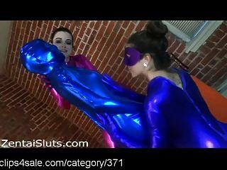 heiße und sexy Frauen Nylon umhüllt bei clips4sale.com