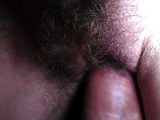close up Sperma auf Pussy