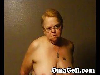 alte Frau hat einen Wichsen großen Schwanz von Omageil