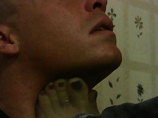 Fuß Anbetung und Schnüffeln