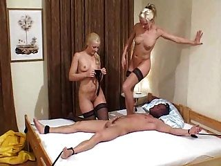 fd65 ein Nylon Fetisch Fick Szene