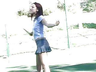 Dana ftv Tennis spielen