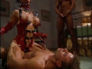 eine femdom Herrin 3 Sklaven